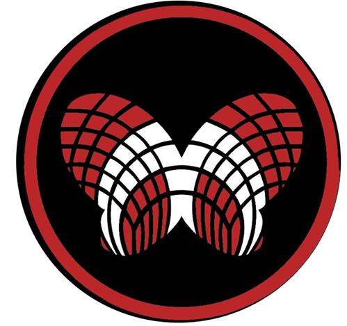 Maple logo - a butterfly